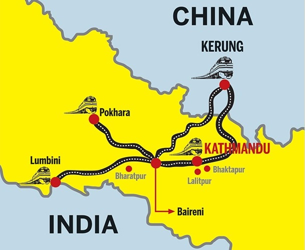 Chinese companies keen to build rail network in Nepal